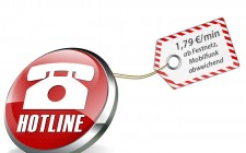 Empfehlung für die Tarifangabe bei Servicenummern